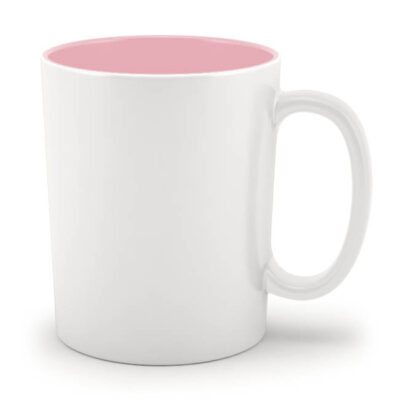 Кружка розовая внутри