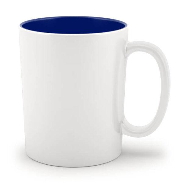 Кружка синяя внутри